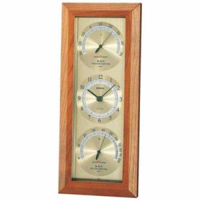 画像1: スーパーEX温度・時計・湿度計