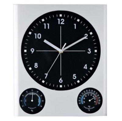 画像2: BIG掛時計(温湿度計付)