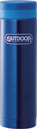 アウトドア ステンレスマグボトル300mL ブルー 314-212