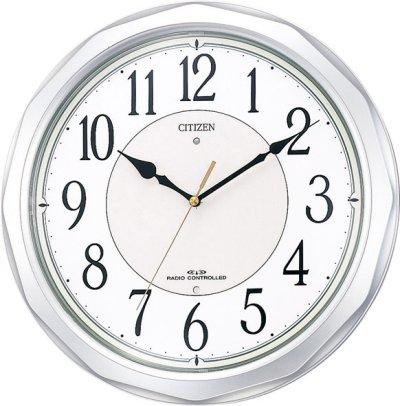 シチズン電波掛時計「ネムリーナサニー」4MY642-019
