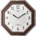 シチズンソーラー電波掛時計「サイレントソーラーM826」4MY826-006 1個より名入れできます。