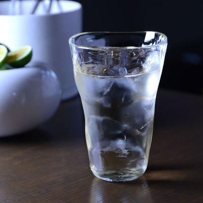 ガラス ドットハイボールグラス 作家「原光弘」