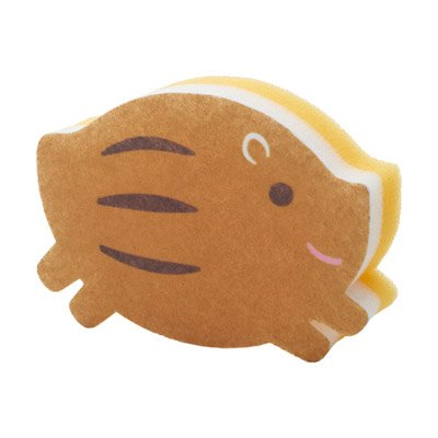 ランランうりぼうキッチンスポンジ