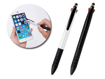 画像1: シャープペン付多機能タッチペン