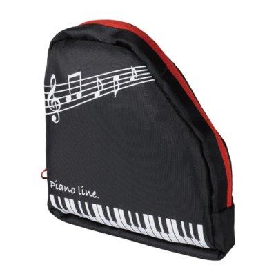 Piano line 収納ポケット付きエコバッグ